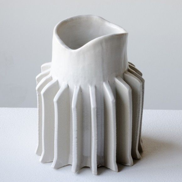 Pressed Ceramic Vases