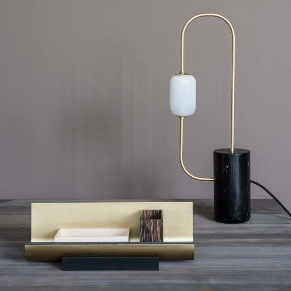 segment table lamp
