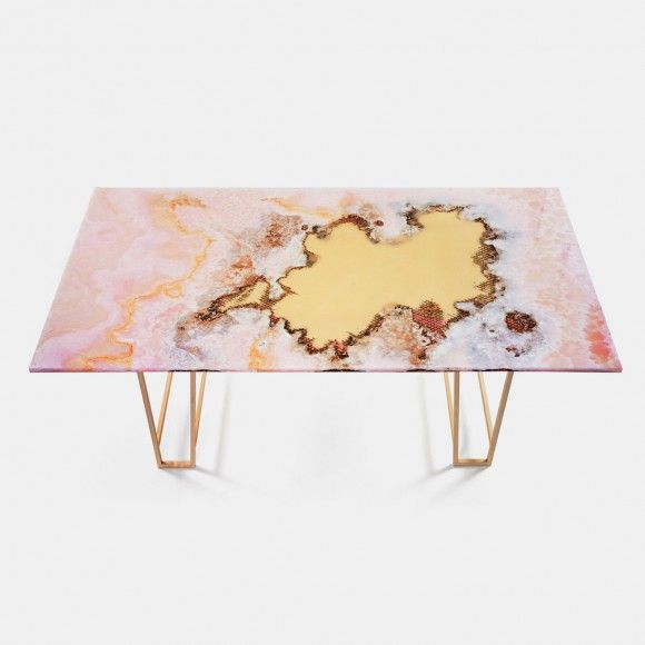 CANYON MARBLE DINING TABLE